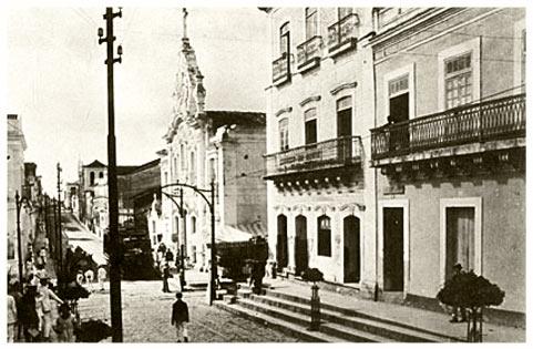 Historia de Joao Pessoa, foto antigua de la ciudad