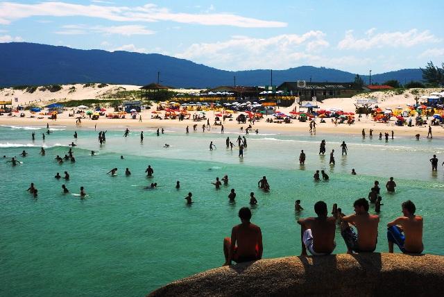 Playas juveniles en Brasil: Florianópolis