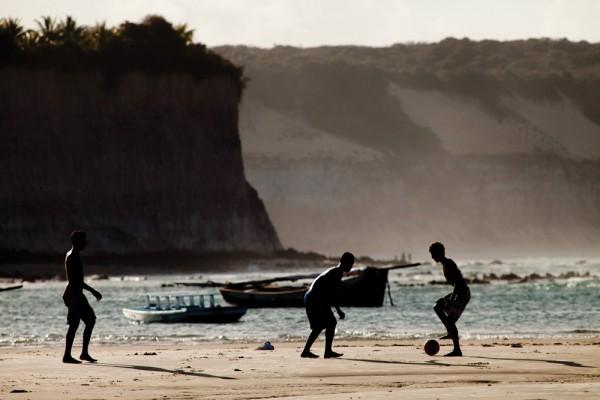 Playas juveniles en Brasil: Pipa