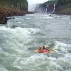 La aventura del rafting en las Cataratas de Iguazú