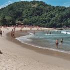 La playa Trindade de Paraty
