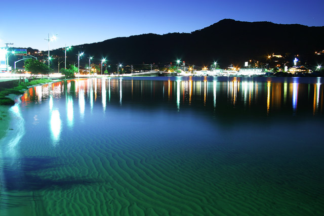 Playas en el Este de Florianópolis: Lagoa da Conceiçao