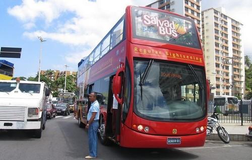 Autobuses en Salvador de Bahía