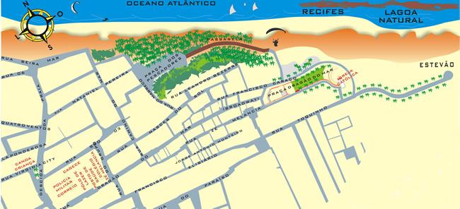 Información para moverse en Canoa Quebrada