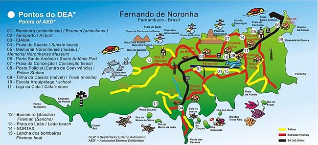 Cómo moverse en Fernando de Noronha