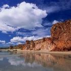 Luna de miel a orillas del mar en Canoa Quebrada