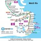 El metro de Río de Janeiro: rápido y económico