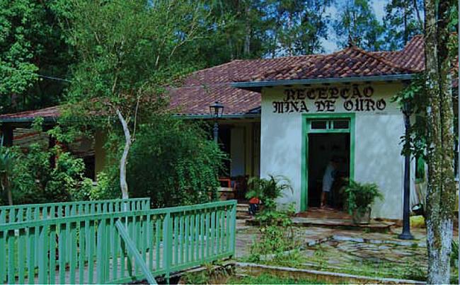 Mina de Passagem en Ouro Preto
