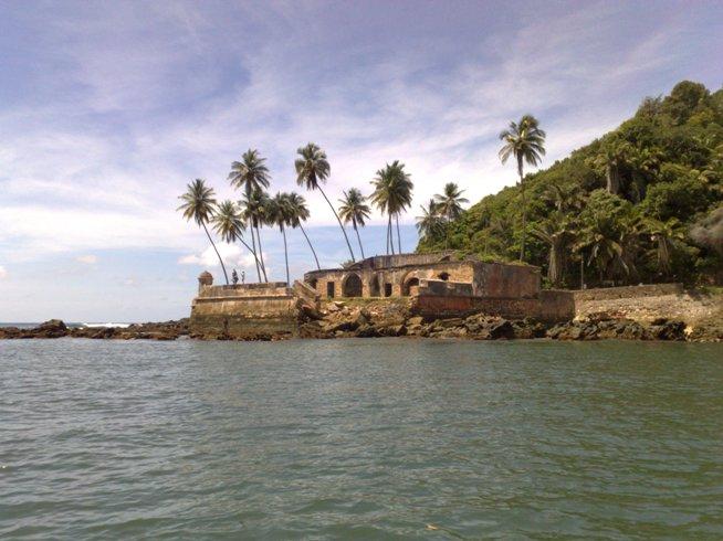 Historia del Morro de San Pablo: construcción del fuerte