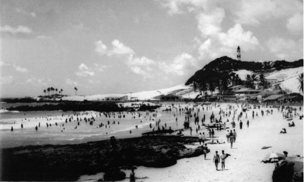 Historia de Natal, foto antigua de sus playas
