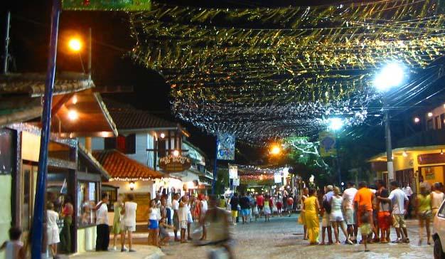La noche en Buzios
