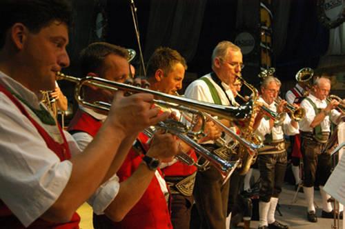 Oktoberfest en Blumenau: música tradicional