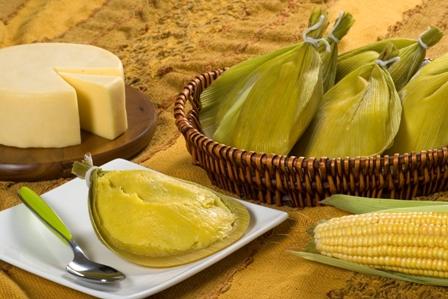 Pamonha, plato típico de las Fiestas Juninas