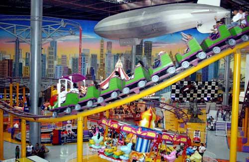 Parques de diversiones en San Pablo: Neo Geo World