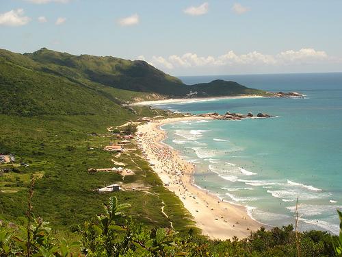 Playas en el Este de Florianópolis: Playa Mole