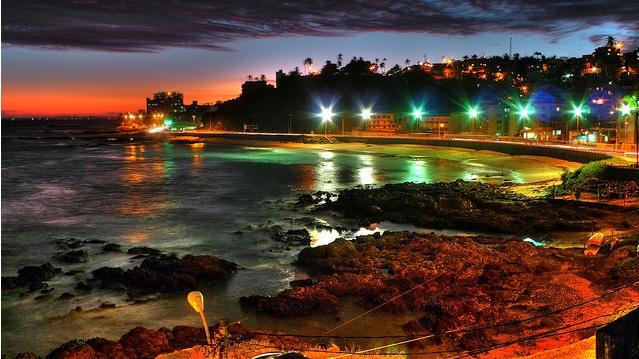 Playa de Ondina en Salvador de Bahía