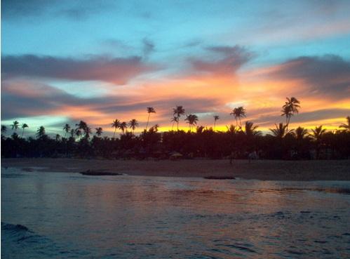 Playa Stella Maris en Salvador de Bahía