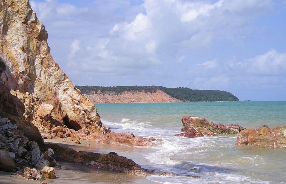 Playas desiertas de Brasil: Carro Quebrado