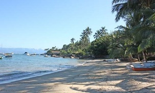 Playa Santa Teresa en Ilhabela