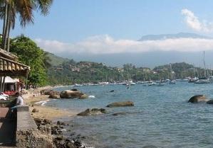Playa de la villa Ilhabela