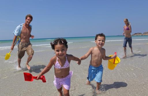 Playas familiares en Brasil