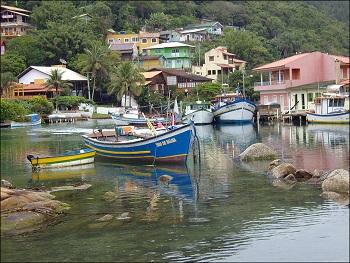Playas en el Este de Florianópolis