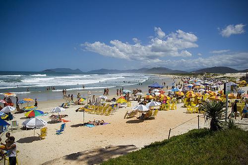 Playas en el norte de Florianópolis: Canasvieiras