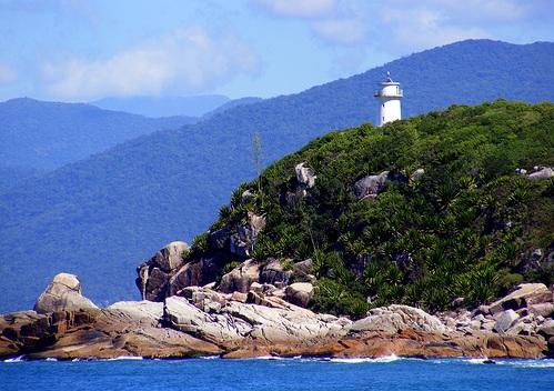 Playas en el Sur de Florianópolis: Naufragados