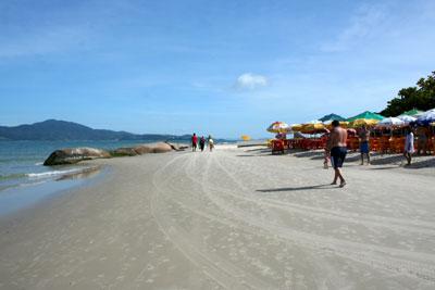 Playas en el Norte de Florianópolis: Praia do Forte