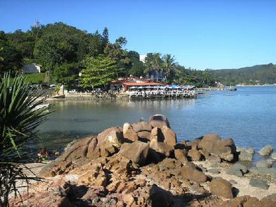 Playas en el Norte de Florianópolis: Sambaqui