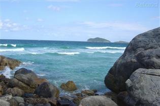 Playas en el Norte de Florianópolis: Santinho