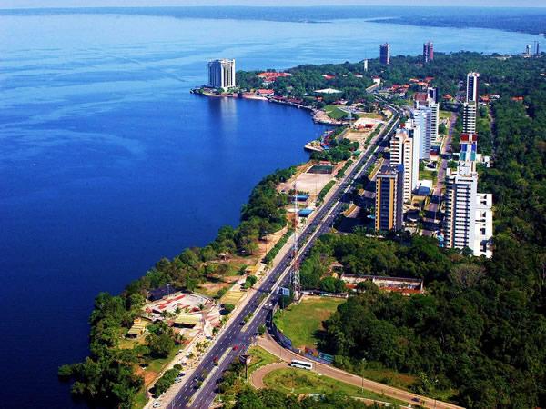 Playas fluviales de Brasil: Ponta Negra en Manaus