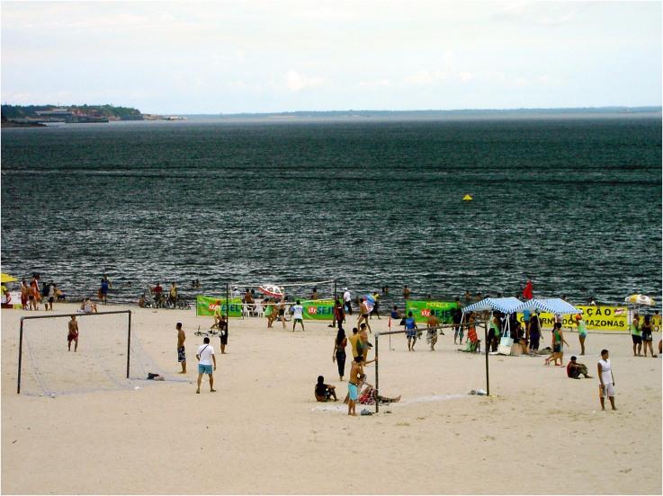 Playas fluviales de Brasil
