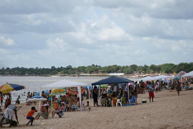 Playas fluviales de Brasil: Isla del Mosqueiro