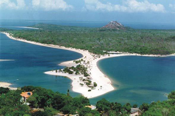 Playas fluviales de Brasil: Alter do Chao