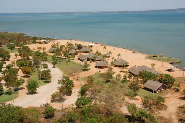 Playas fluviales de Brasil: Palmas en Tocantins