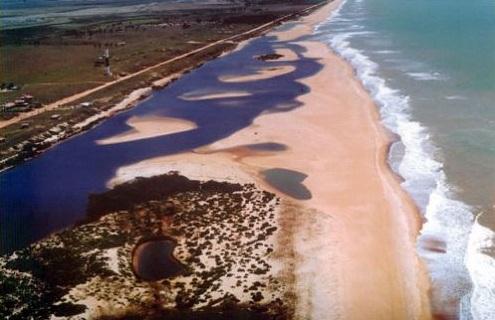 Playas nudistas de Brasil: Barra Seca