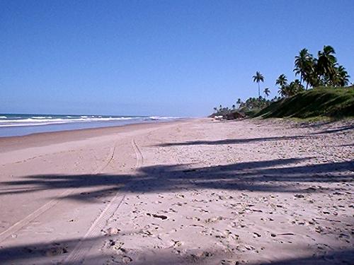 Playas nudistas de Brasil: Massarandupió