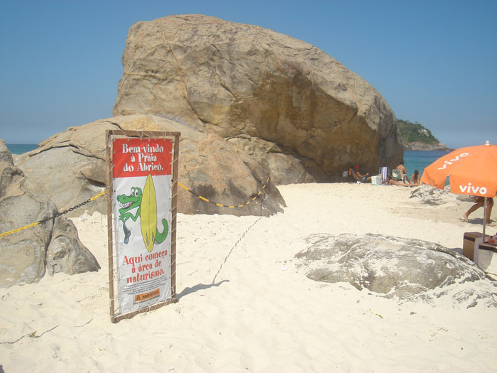 Playas nudistas de Brasil