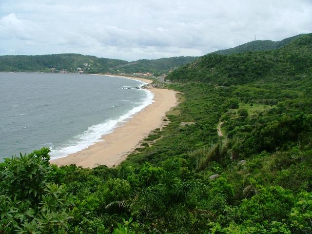 Playas nudistas de Brasil: Praia do Pinho