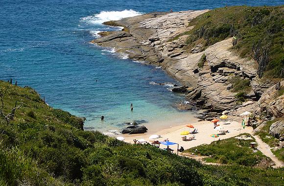 Playas nudistas de Brasil: Olho de Boi