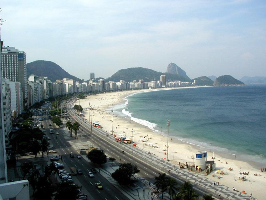 Playas urbanas de Brasil