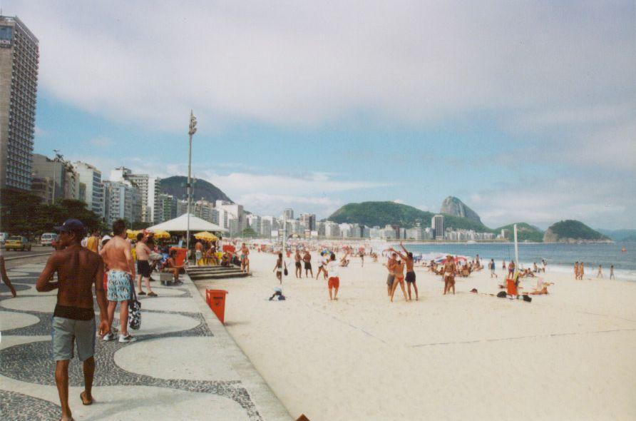 Playas urbanas de Brasil: Copacabana