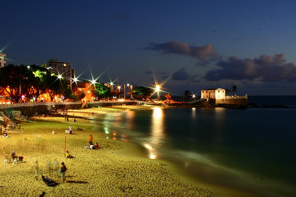 Playas urbanas de Brasil: Porto da Barra