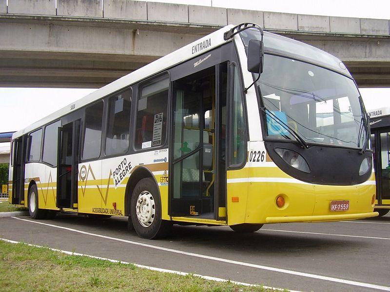 Autobuses en Porto Alegre