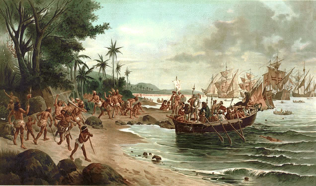 Historia de Porto Seguro: llegada de portugueses a Brasil