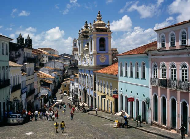 Casco antiguo de Salvador de Bahía