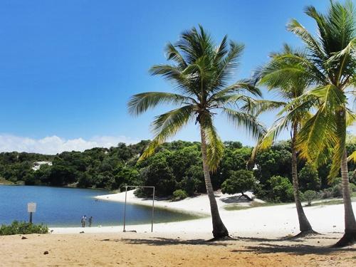 Parque Abaeté en Salvador de Bahía