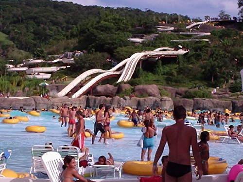 Rio Water Planet, mundo acuático en Rio de Janeiro