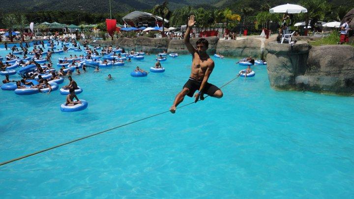 Piscina del Rio Water Park en Rio de Janeiro